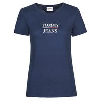 Odjeća Žene  Majice kratkih rukava Tommy Jeans TJW SKINNY ESSENTIAL TOMMY T SS Blue