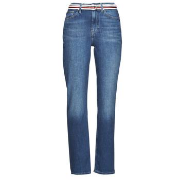 Odjeća Žene  Traperice ravnog kroja Tommy Hilfiger NEW CLASSIC STRAIGHT HW A LEA Blue