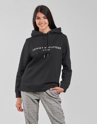 Odjeća Žene  Sportske majice Tommy Hilfiger HERITAGE HILFIGER HOODIE LS Crna