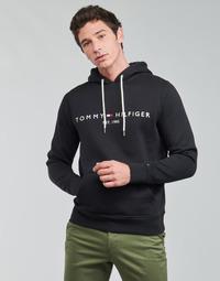 Odjeća Muškarci  Sportske majice Tommy Hilfiger TOMMY LOGO HOODY Crna