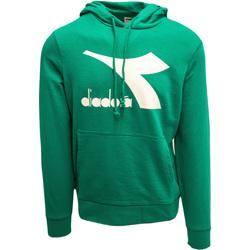 Odjeća Muškarci  Sportske majice Diadora Big Logo Zelena