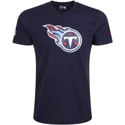 Odjeća Muškarci  Majice kratkih rukava New-Era Tennessee Titans Team Logo Plava