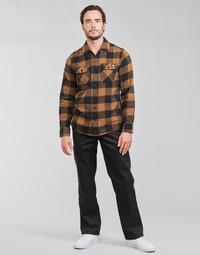 Odjeća Muškarci  Hlače s pet džepova Dickies ORIGINAL FIT STRAIGHT LEG WORK PNT Crna