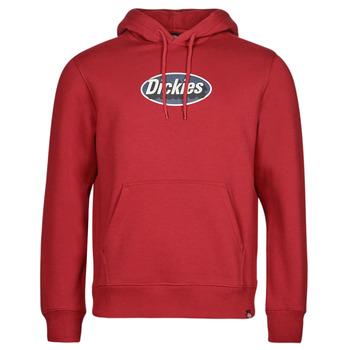 Odjeća Muškarci  Sportske majice Dickies SAXMAN HOODIE BIKING Bordo