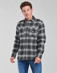 Odjeća Muškarci  Košulje dugih rukava Dickies EVANSVILLE LS Crna