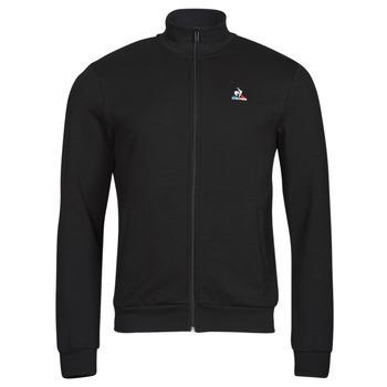 Odjeća Muškarci  Gornji dijelovi trenirke Le Coq Sportif ESS FZ SWEAT N 3 M Crna