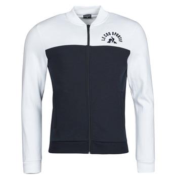 Odjeća Muškarci  Gornji dijelovi trenirke Le Coq Sportif SAISON 2 FZ SWEAT N 1 Bijela