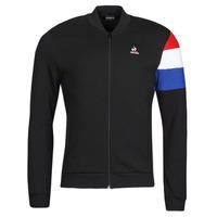 Odjeća Muškarci  Gornji dijelovi trenirke Le Coq Sportif TRI FZ SWEAT N 1 M Crna