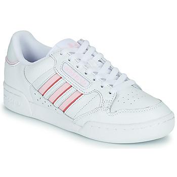Obuća Žene  Niske tenisice adidas Originals CONTINENTAL 80 STRI Bijela / Ružičasta