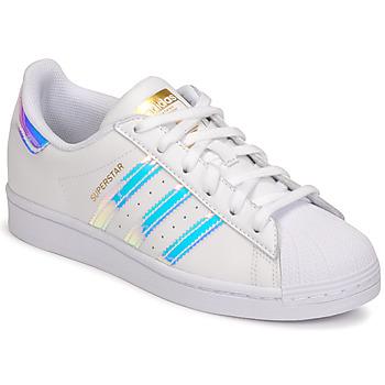 Obuća Žene  Niske tenisice adidas Originals SUPERSTAR W Bijela
