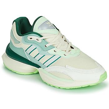 Obuća Žene  Niske tenisice adidas Originals OZIKENIEL Bijela / Zelena