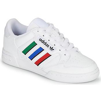 Obuća Djeca Niske tenisice adidas Originals CONTINENTAL 80 STRI J Bijela / Zelena / Blue