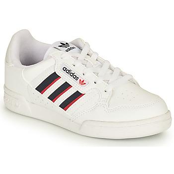 Obuća Djeca Niske tenisice adidas Originals CONTINENTAL 80 STRI C Bijela / Blue