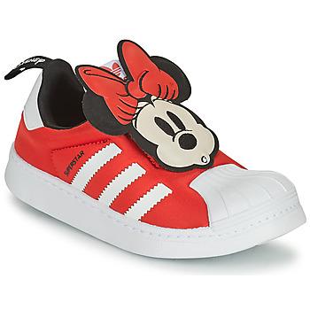 Obuća Djevojčica Niske tenisice adidas Originals SUPERSTAR 360 C Red