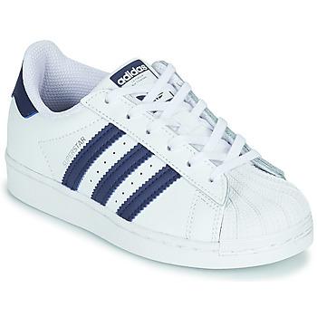 Obuća Djeca Niske tenisice adidas Originals SUPERSTAR C Bijela / Blue