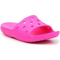 Obuća Djeca Sportske natikače Crocs Classic Slide Ružičasta