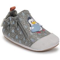 Obuća Dječak  Papuče za bebe Robeez BLUE PINGUINS Siva