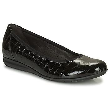 Obuća Žene  Balerinke i Mary Jane cipele Gabor 7262087 Crna