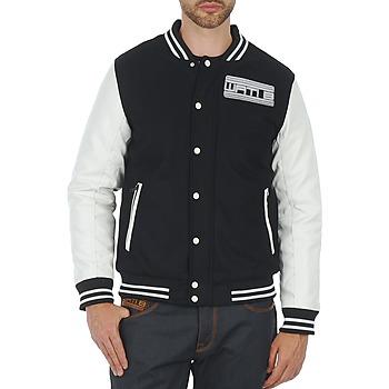 Odjeća Muškarci  Kratke jakne Wati B OUTERWEAR JACKET Black / White