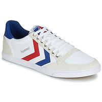Obuća Muškarci  Niske tenisice Hummel TEN STAR LOW CANVAS Bijela / Red / Blue