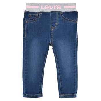 Odjeća Djevojčica Skinny traperice Levi's PULL ON SKINNY JEAN Westthird / Ružičasta
