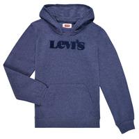 Odjeća Dječak  Sportske majice Levi's GRAPHIC PULLOVER HOODIE Blue
