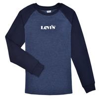 Odjeća Dječak  Majice dugih rukava Levi's LONG SLV WAFFLE TEE SHIRT Blue