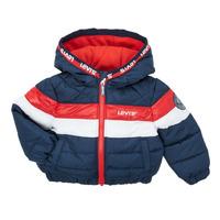 Odjeća Dječak  Pernate jakne Levi's COLORBLOCK JACKET Plava / Red / Bijela