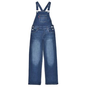 Odjeća Djevojčica Kombinezoni i tregerice Levi's SHOECUTOVERALL Blue