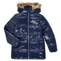 Odjeća Djevojčica Pernate jakne Levi's FUR PUFFER Blue