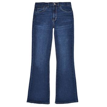 Odjeća Djevojčica Bootcut traperice Levi's HIGHRISECROPFLARE Blue