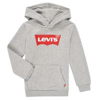 Odjeća Dječak  Sportske majice Levi's BATWING SCREENPRINT HOODIE Siva