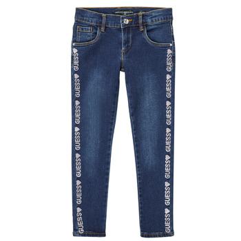 Odjeća Djevojčica Slim traperice Guess PALINCA Blue