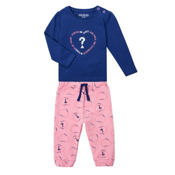 Odjeća Djevojčica Dječji kompleti Guess ANISSA Ružičasta / Blue