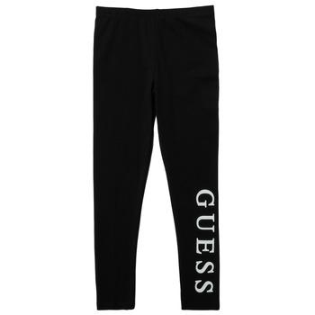 Odjeća Djevojčica Tajice Guess PELINNA Crna