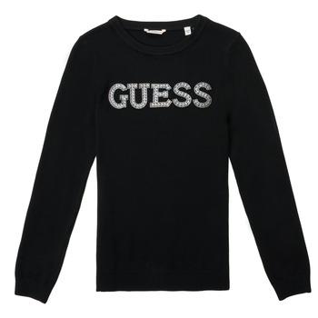 Odjeća Djevojčica Puloveri Guess TAKEI Crna