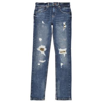 Odjeća Dječak  Slim traperice Guess PERNOLA Blue