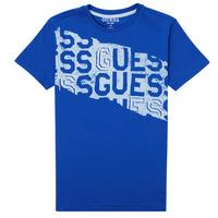 Odjeća Dječak  Majice kratkih rukava Guess LISTIN Blue