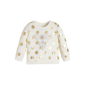 Odjeća Djevojčica Sportske majice Guess KUBLO Bijela