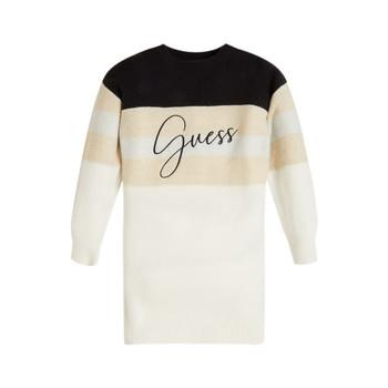 Odjeća Djevojčica Kratke haljine Guess HOULLA Bež / Blue