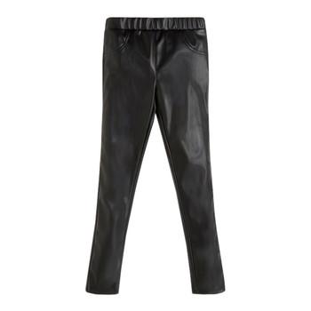 Odjeća Djevojčica Hlače s pet džepova Guess PATALOT Crna