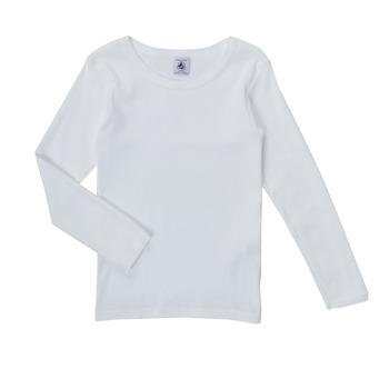 Odjeća Djevojčica Majice dugih rukava Petit Bateau FATRE Bijela