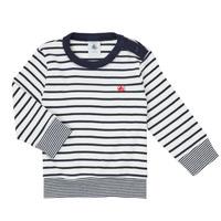 Odjeća Dječak  Majice dugih rukava Petit Bateau IGRAE Bijela / Blue