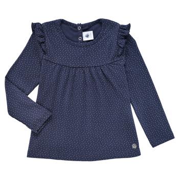 Odjeća Djevojčica Majice dugih rukava Petit Bateau IWAKA Blue