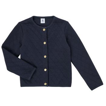 Odjeća Djevojčica Veste i kardigani Petit Bateau COLYNNE Blue