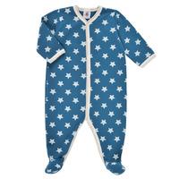 Odjeća Dječak  Pidžame i spavaćice Petit Bateau SOLARIE Blue / Bijela