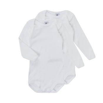 Odjeća Djeca Pidžame i spavaćice Petit Bateau TESSA Bijela