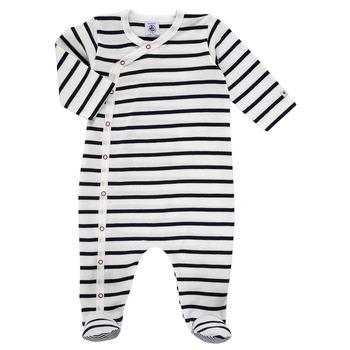 Odjeća Djeca Pidžame i spavaćice Petit Bateau ONZER Bijela