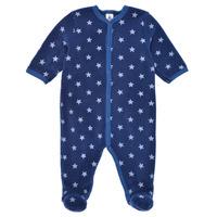 Odjeća Dječak  Pidžame i spavaćice Petit Bateau BENIR Blue / Bijela