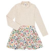 Odjeća Djevojčica Kratke haljine Petit Bateau WESSRI Multicolour